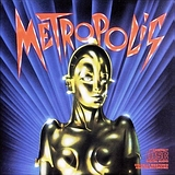Metropolis soundtrack - obal